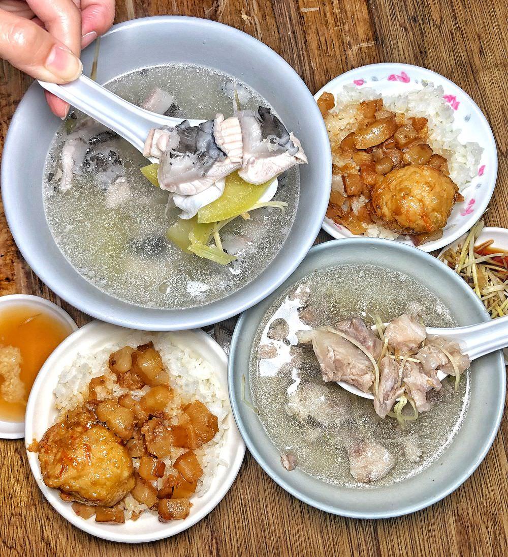 台南大灣早餐【烘爐肉燥飯】傳統西瓜綿虱目魚湯搭配古早味肉燥飯早餐吃這間就對了!