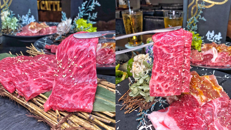 台南燒肉推薦【鉄牛燒肉】霸氣個人套餐只要580元就能吃到和牛 黑將純血和牛/奧汀牛 肉質一口入魂 !  營業到凌晨四點的深夜燒肉店