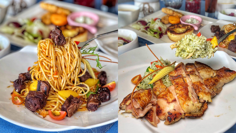 台南美食【巴薩爵斯】北區質感義式料理 義大利麵/燉飯/鬆餅 時尚高雅的氣氛是你聚餐的好選擇