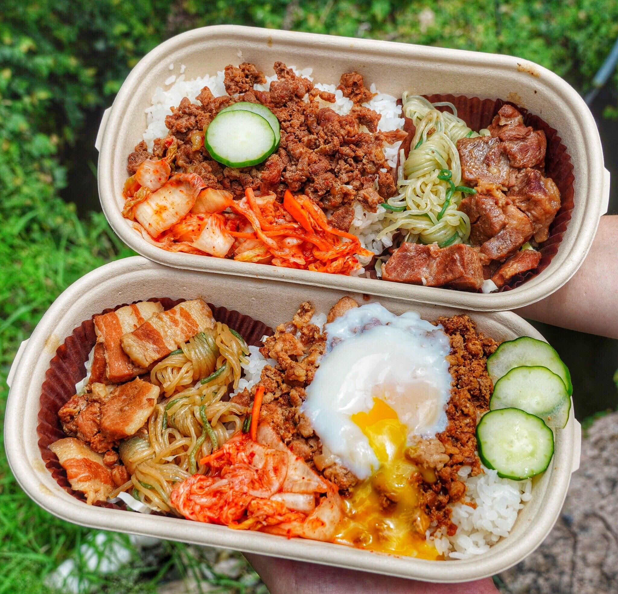 台南美食【貴一郎和牛魯肉飯外帶吧】免百元就能吃到和牛魯肉飯/伊比利豬魯肉飯!
