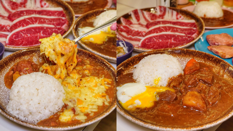 台南美食【貴一郎S‧R‧T 燒肉咖哩】日式咖哩飯x燒肉 百元就能品嘗到奢華享受!