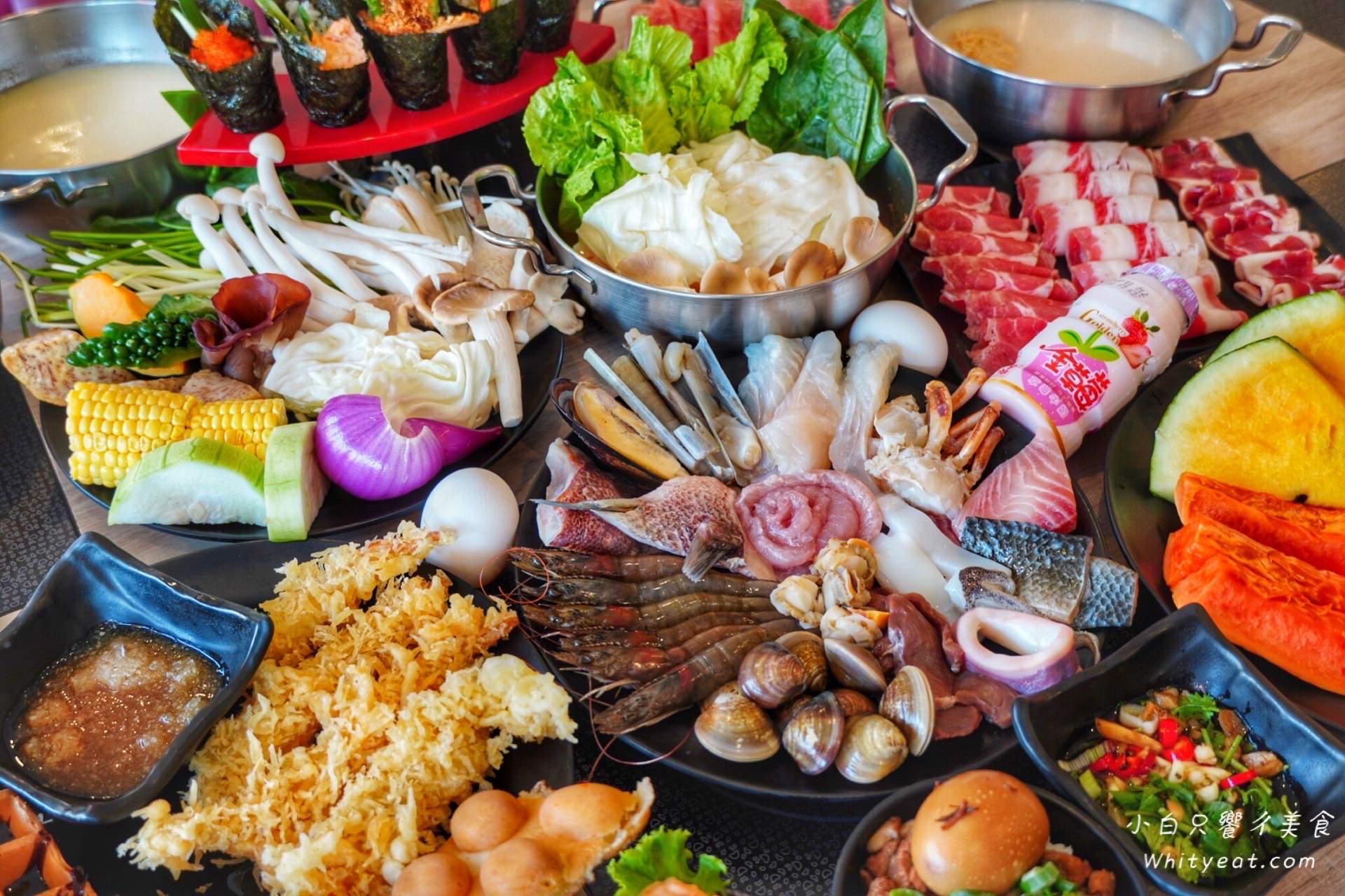 台南吃到飽【宝takara 日式涮涮鍋】上百種食材通通吃到飽 現切肉品/海鮮/壽司 每人只要四百初