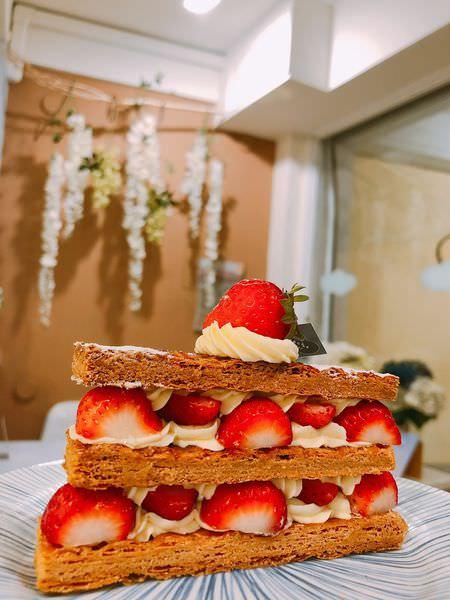 [台南 ‧ 東區] ganache格那修手作蛋糕 讓人戀愛的的草莓季 @小白只饗ㄔ台南