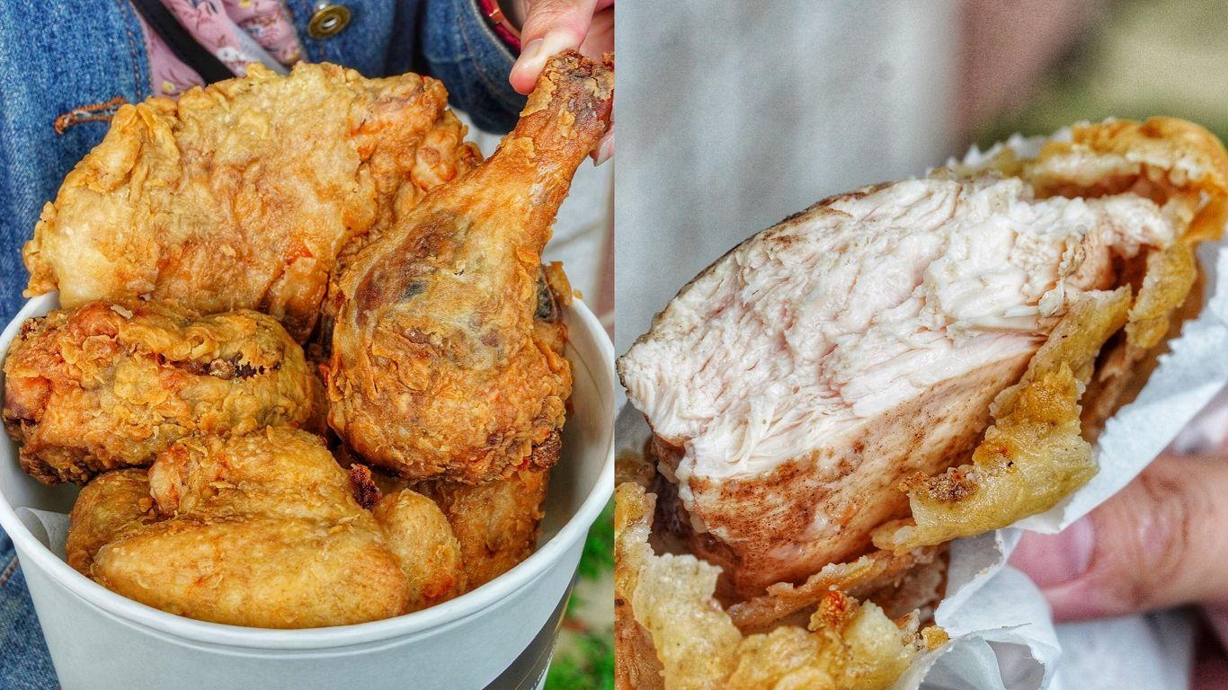 【台南美食】雞腿+雞塊+雞翅x2 全餐只要85元!比臉還大雞排限時特價銅板價有找/中藥炸雞超多汁 – 嘴哥炸雞 歸仁美食
