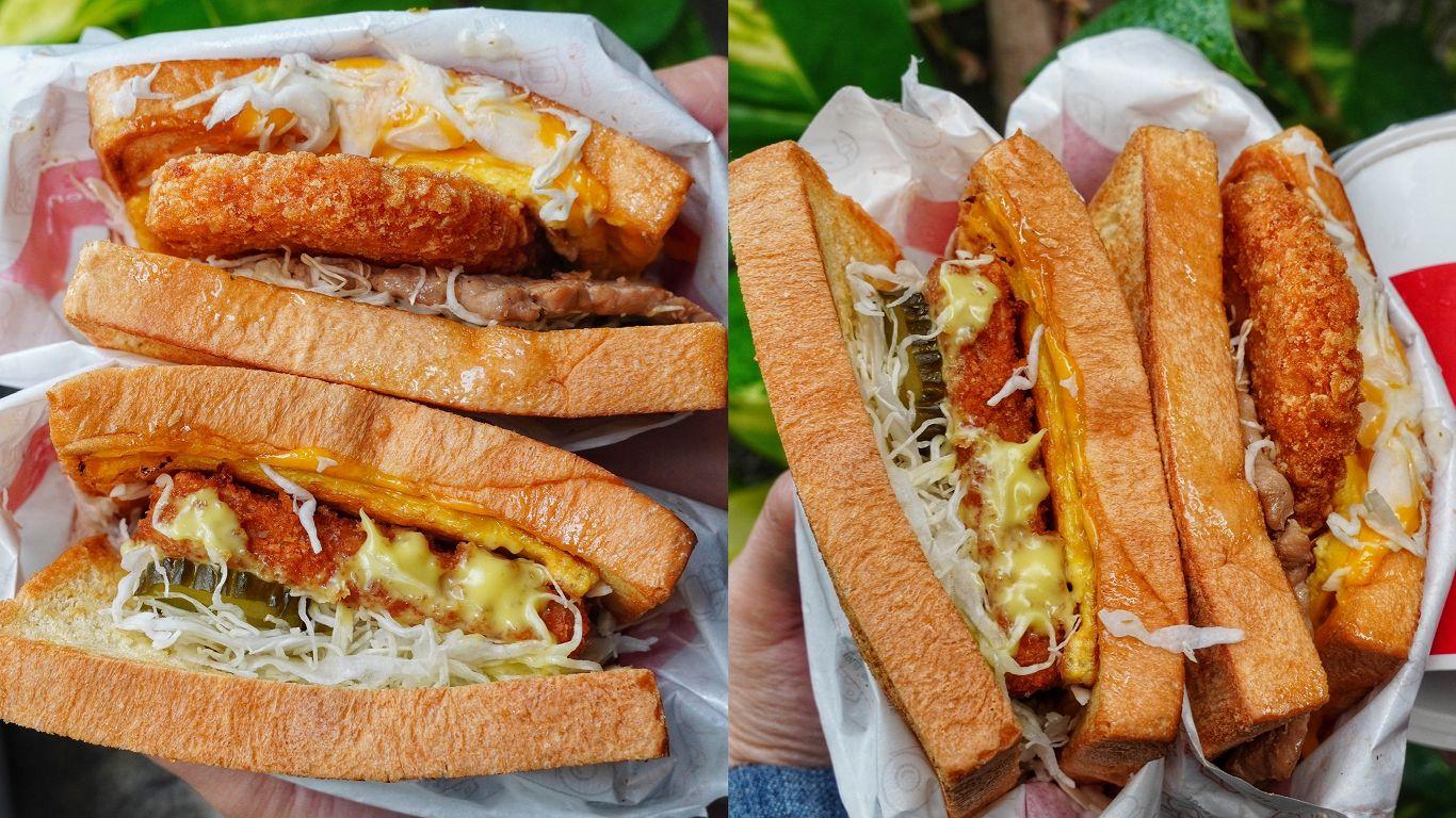 【台南美食】ISAAC Toast & Coffee崇學店 韓國超人氣吐司來市區開分店囉!免飛韓國就能吃到|東區美食