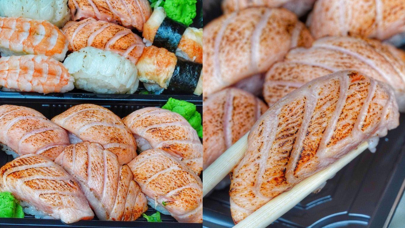 【台南美食】台南又一家超強炙燒鮭魚!限定開假日晚上的神秘壽司店!平價好吃還開到凌晨一點 – 日和壽司|善化美食