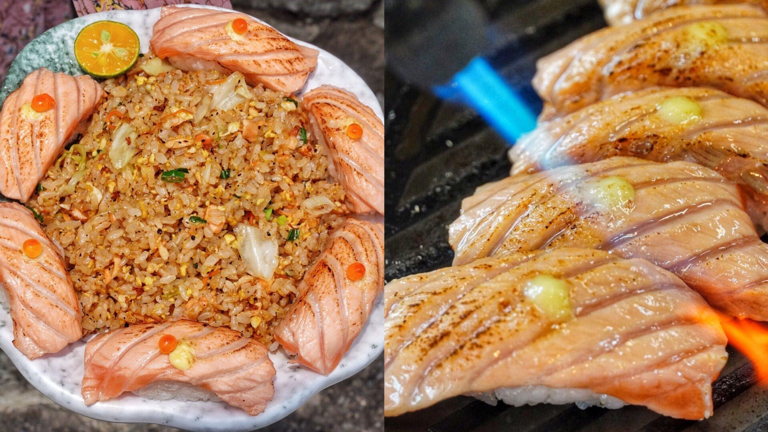 【高雄美食】營業到凌晨的平價日式料理!炙燒鮭魚+炒飯新吃法 餐點選擇近百種 在地人推爆 – 阿文壽司