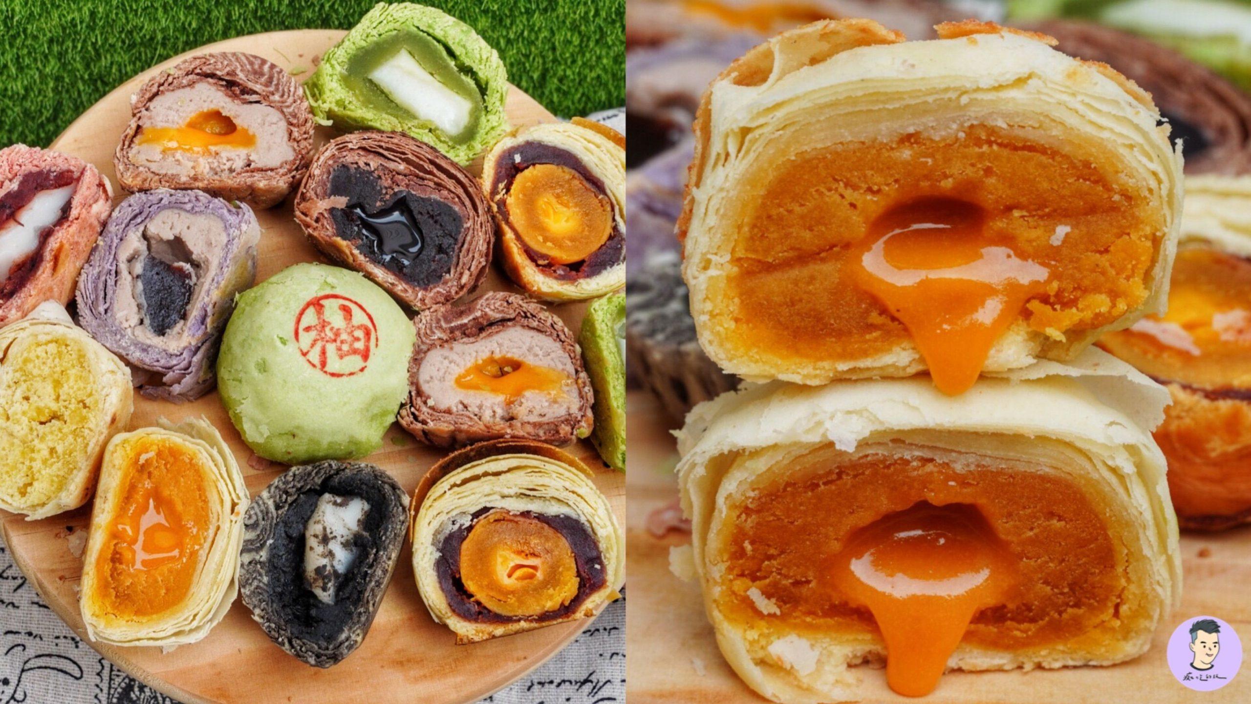 【台南美食】咿吉麵包坊 平日才開的麵包店 爆漿流沙月餅!!  超酷口味就在這|台南北區美食