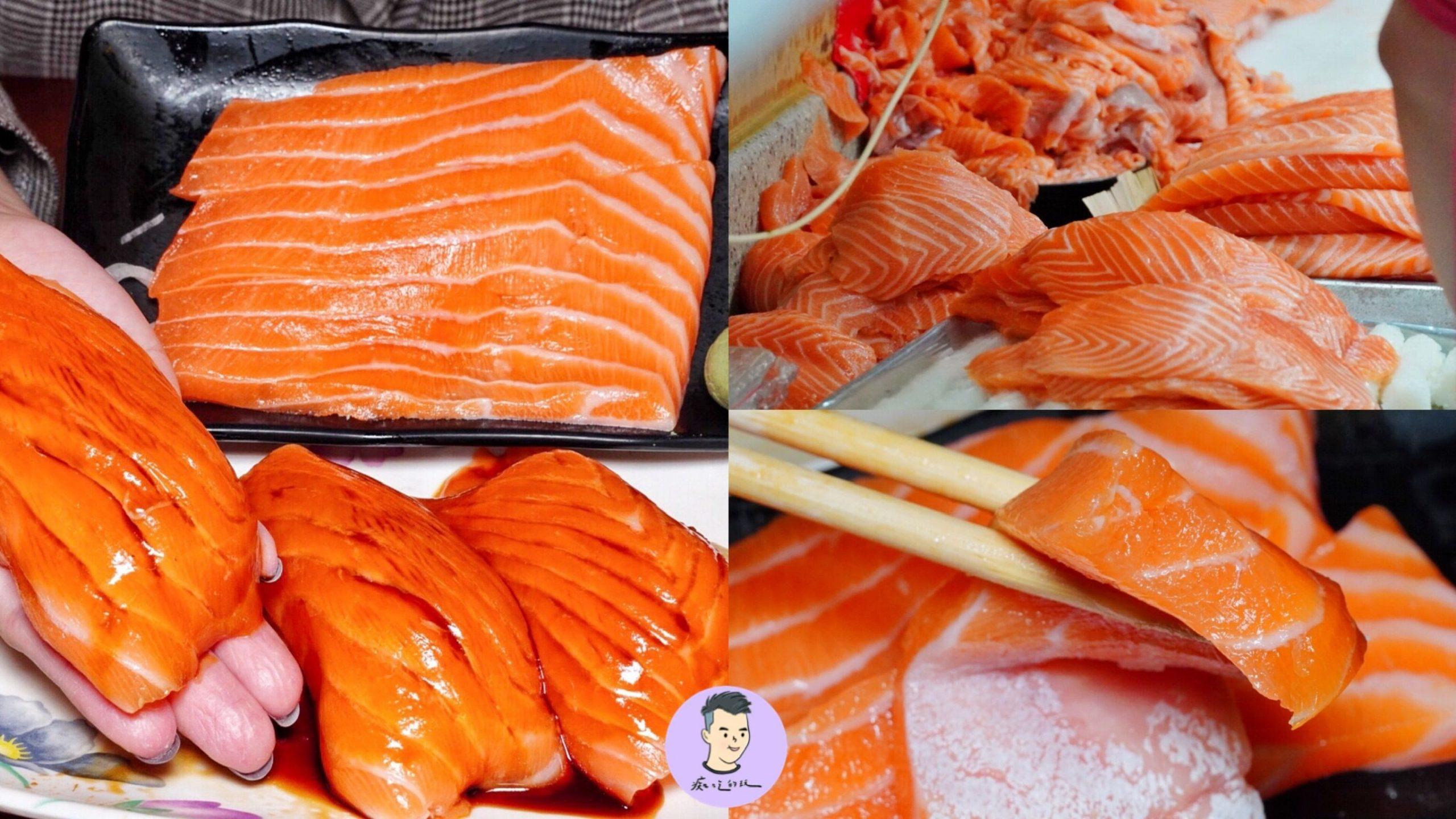 驚見鮭魚山!台北超狂排隊店「三味食堂」巨無霸鮭魚握壽司/鮭魚肚 紅遍日韓的日料 還有免費味噌湯|台北美食|萬華區美食