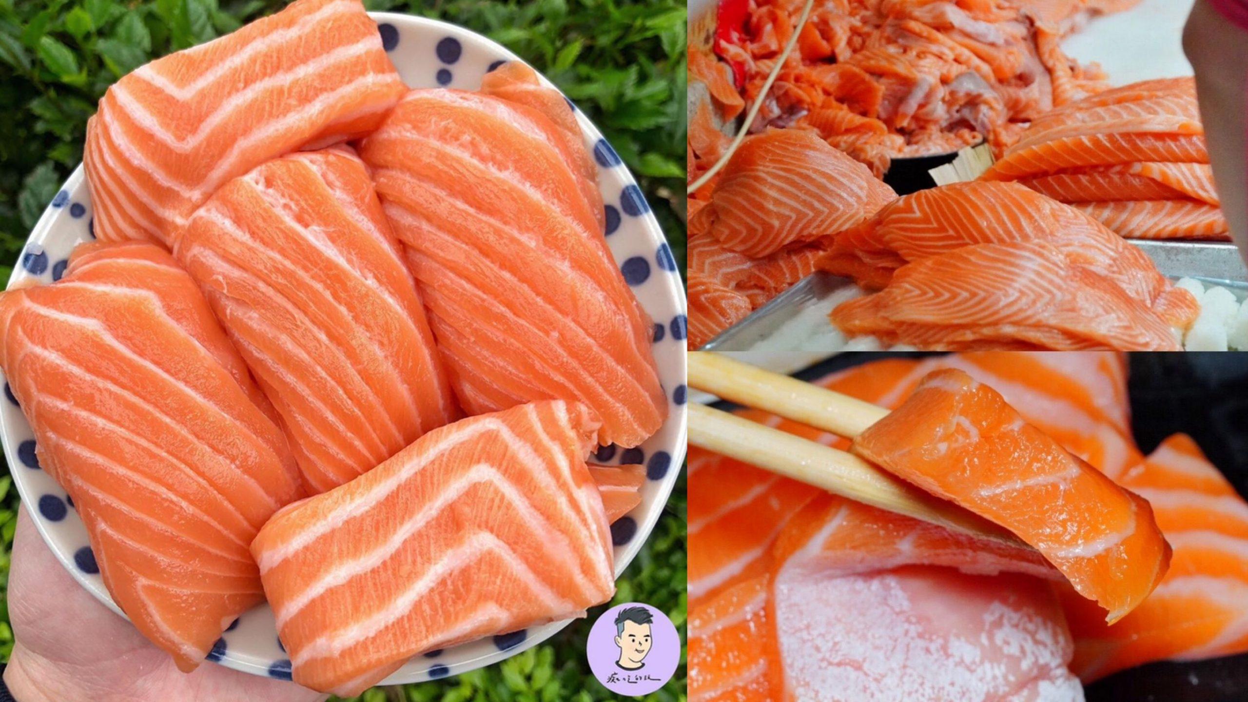台北超狂排隊店「三味食堂」巨無霸鮭魚握壽司/鮭魚肚 紅遍日韓的日料 還有免費味噌湯|台北美食|萬華區美食