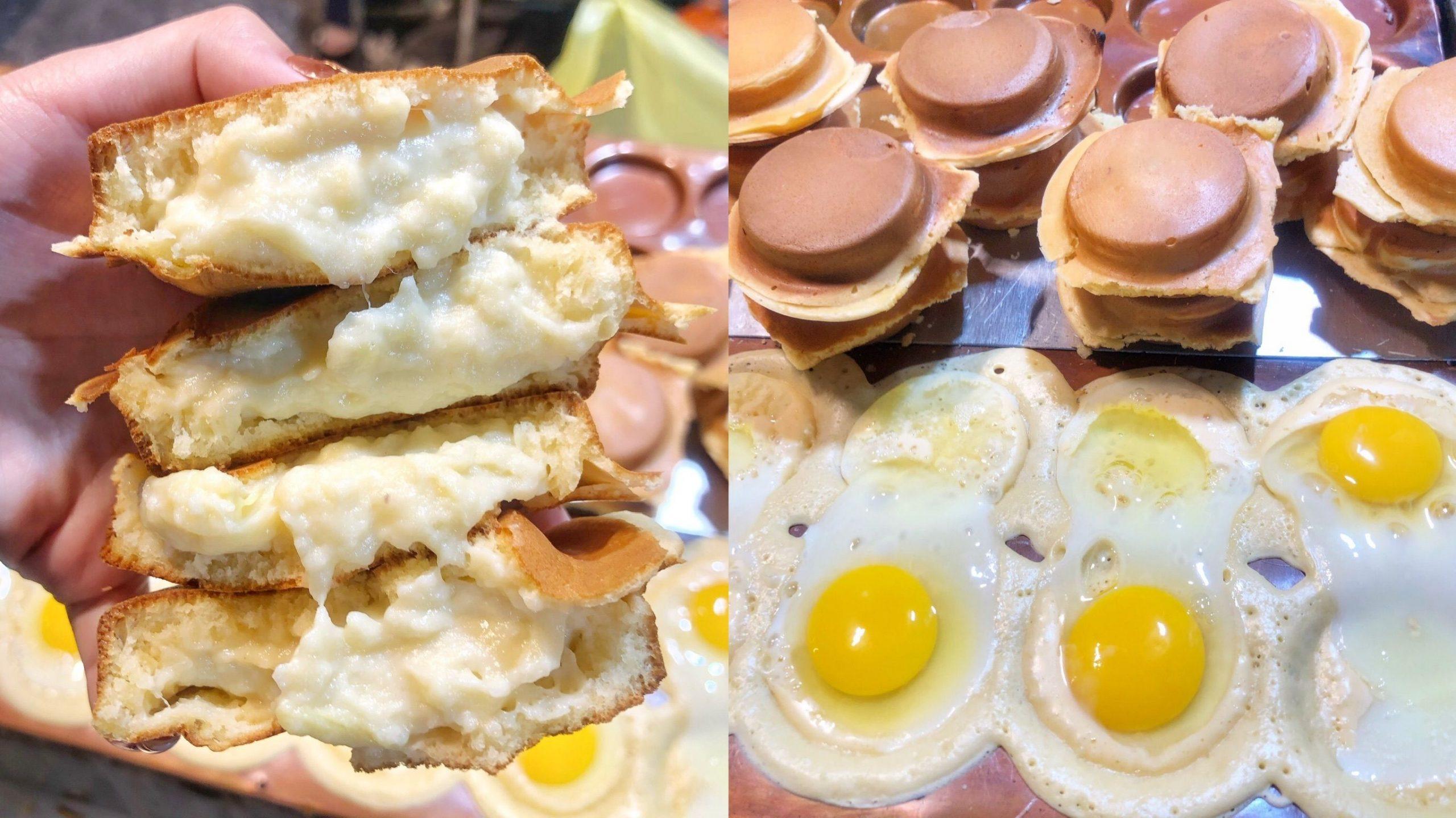 【台南夜市】呼叫榴槤控「榴槤爆漿卡士達紅豆餅」只有這裡才有賣!又香又臭好邪惡 – Q弟紅豆餅