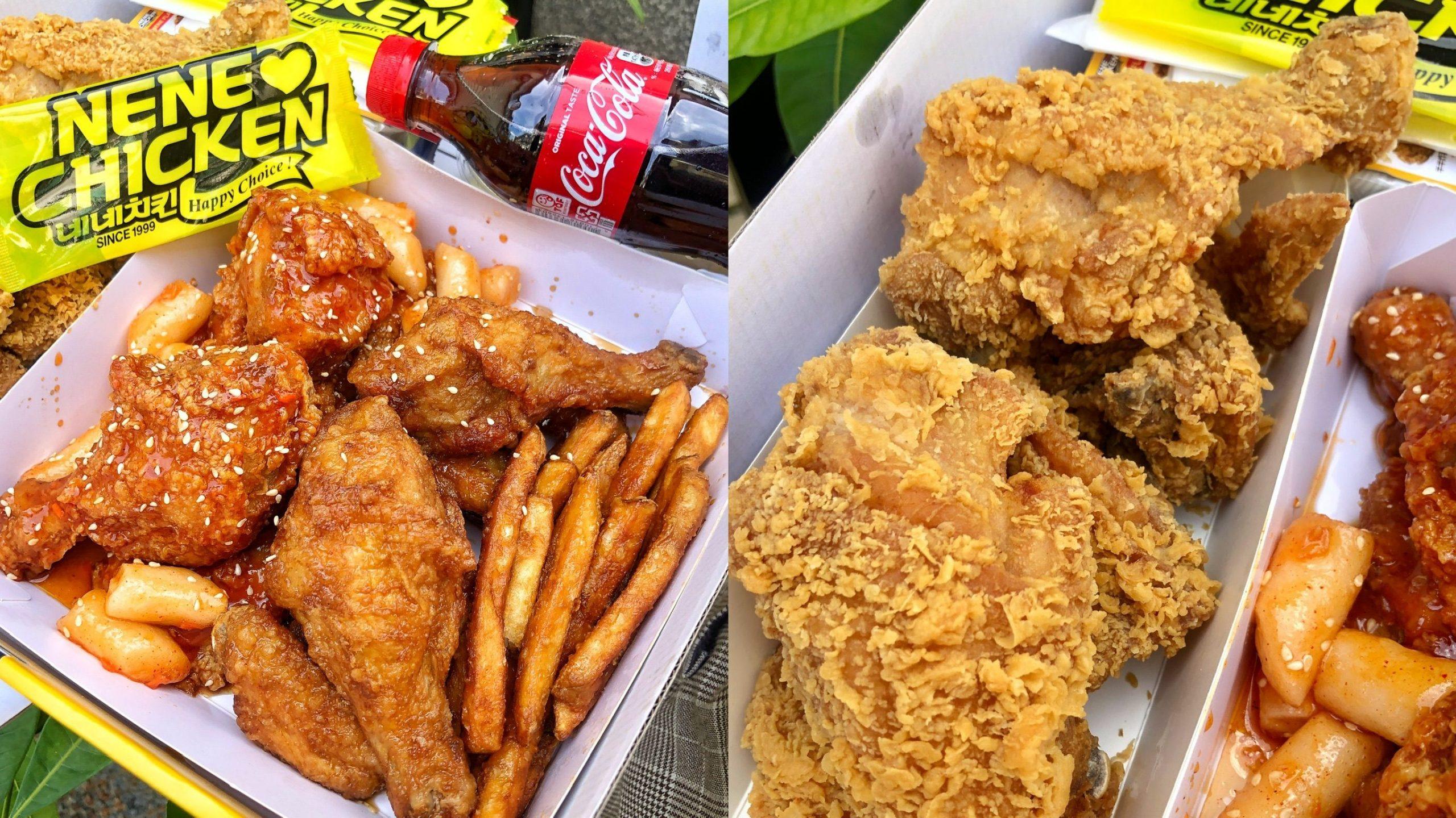 台南第一間【NENE CHICKEN台南店】要打100通才訂到的人氣韓國炸雞店!免出國就能吃到 酥脆又多汁 有九種口味
