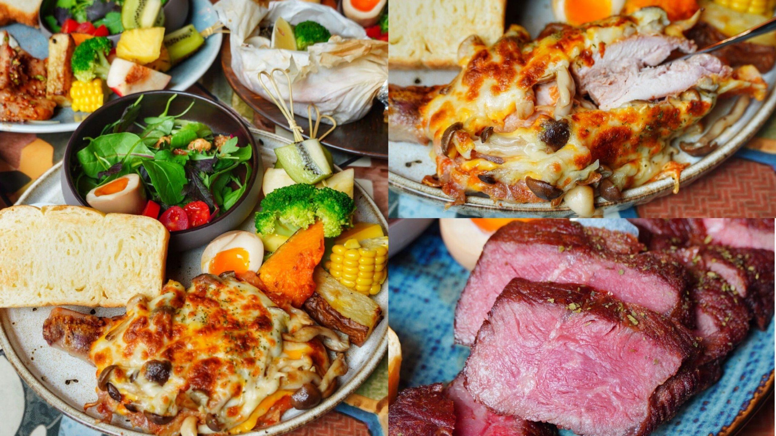 台南超厲害早午餐【艾柏達咖啡餐酒館】全新風格登場!炙烤起司雞腿/牛排/紙包海鮮 cp值超高的早午餐|中西區美食