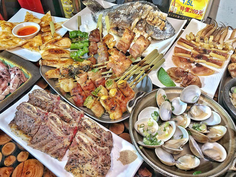 台南宵夜【火熊串燒】日式獨家風味串燒 宵夜聚餐好選擇 內文有新菜單|台南美食