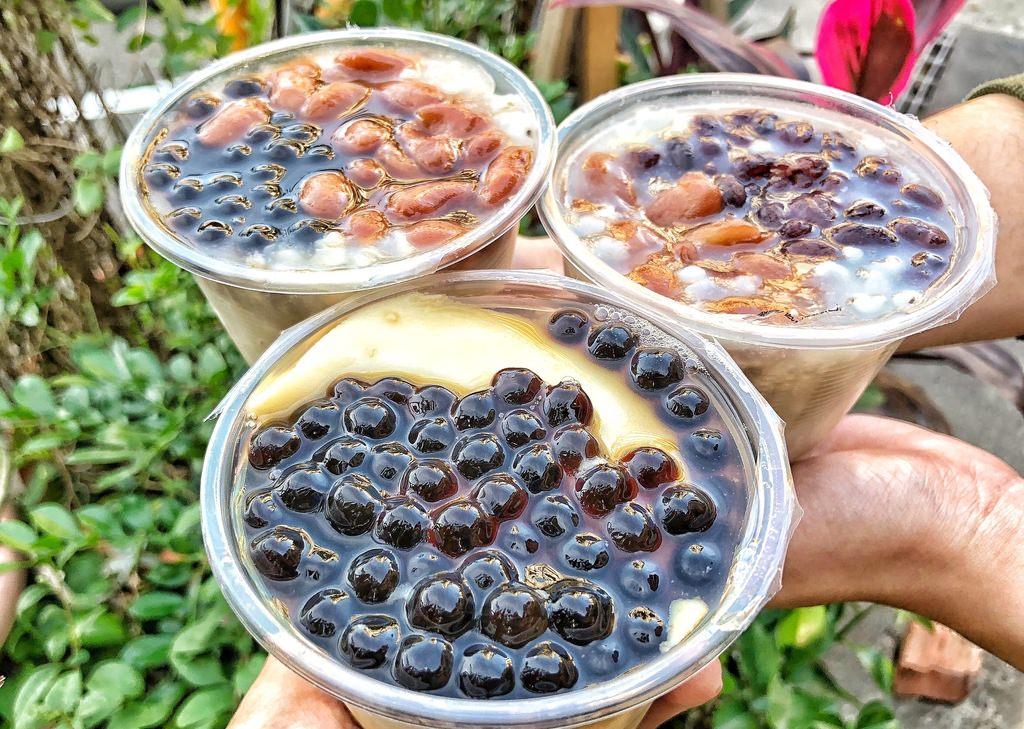 【 台南 ‧ 永康區 】阿月手工傳統豆花 隱藏在尚青黃昏市場一杯只要15元的便宜銅板價