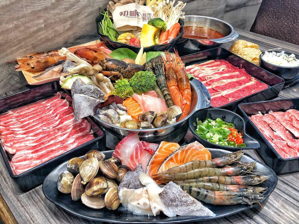 【 台南 ‧ 南區 】初嘛超市鍋物 好吃又好玩的用餐模式 主打多種海鮮與肉類想吃什麼自己挑