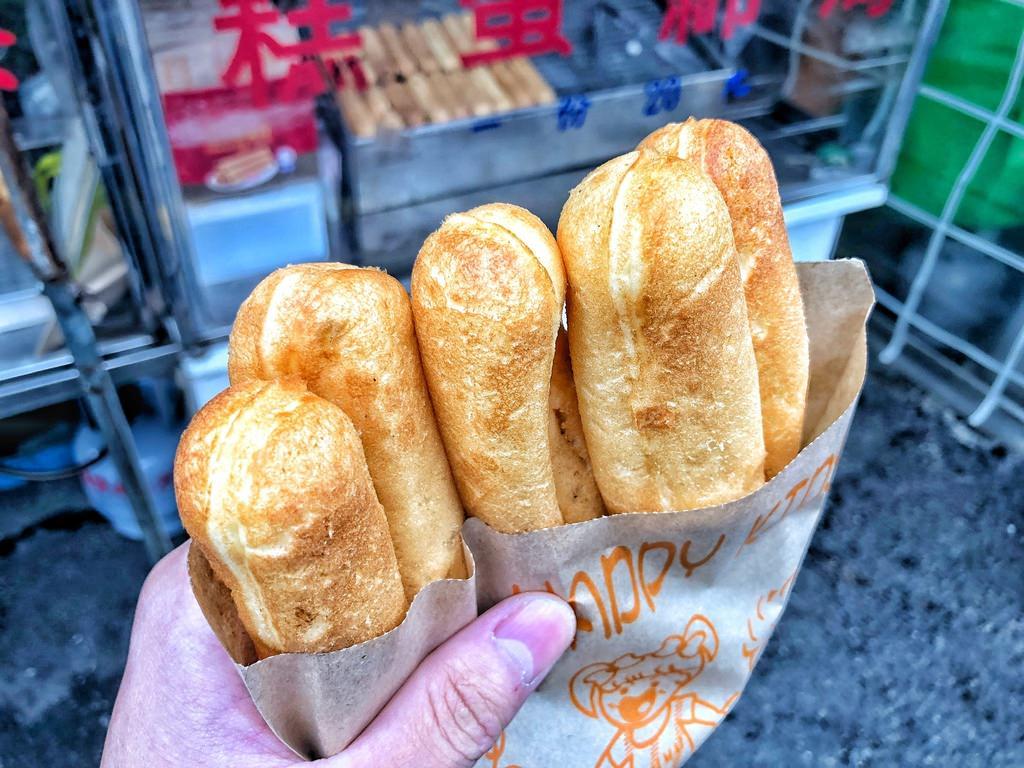 [台南 ‧ 永康區] 永康早菜市場海綿蛋糕 一份只要20元的海綿蛋糕