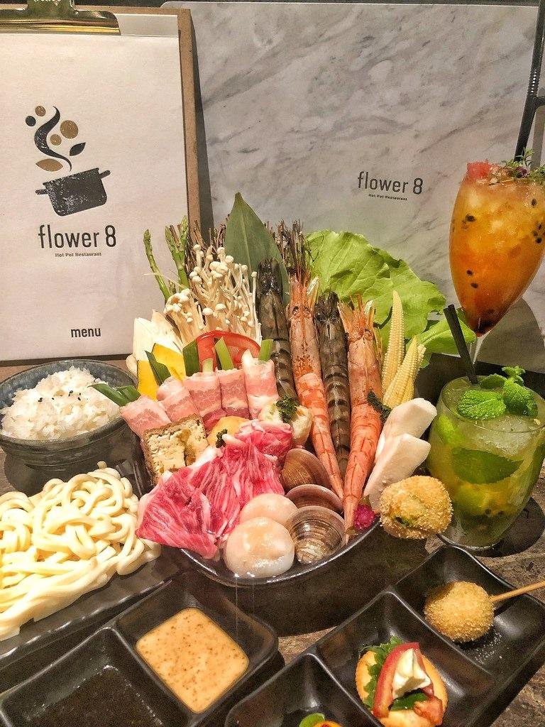 [台中 ‧西屯區] 花吧Flower8創意香草火鍋結合酒吧完全顛覆你對火鍋的印象